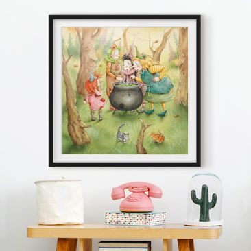 Product picture Framed print - Frida At The Witches...
