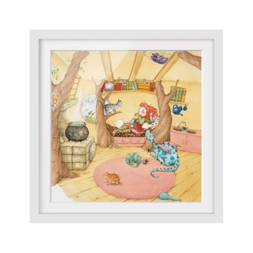 Product picture Framed print - Frida Talks About The...