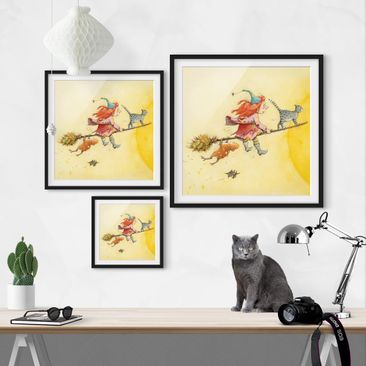 Product picture Framed print - Frida And Tomcat...