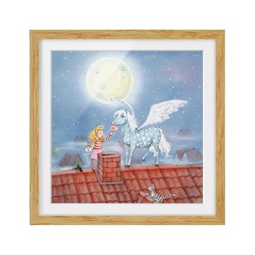 Product picture Framed print - Marie'S Magic Pony -...