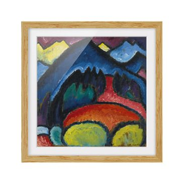 Product picture Framed print - Alexej Von Jawlensky -...