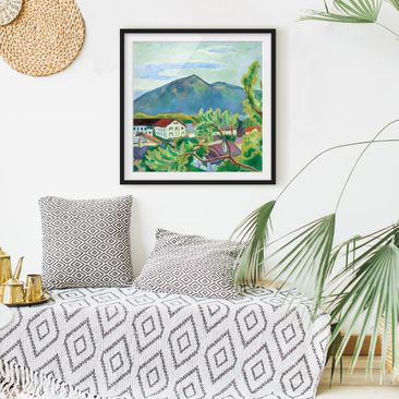 Product picture Framed print - August Macke - Spring...