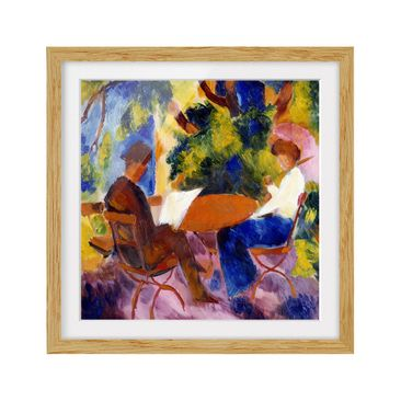 Product picture Framed print - August Macke - Couple At...