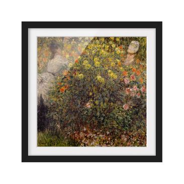 Product picture Framed print - Claude Monet - Flower...