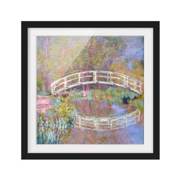 Product picture Framed print - Claude Monet - Bridge...