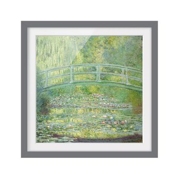 Product picture Framed print - Claude Monet - Japanese...
