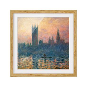 Product picture Framed print - Claude Monet - London...