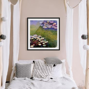 Product picture Framed print - Claude Monet - Water...