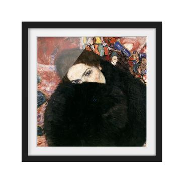 Product picture Framed print - Gustav Klimt - Lady With...