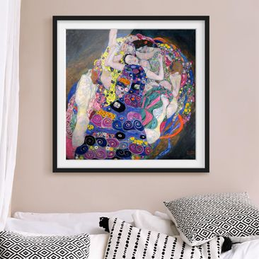 Product picture Framed print - Gustav Klimt - The Virgin...