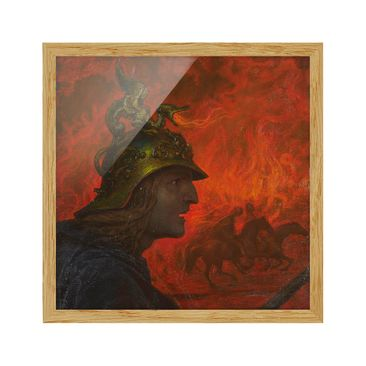 Product picture Framed print - Hans Thoma - The War -...