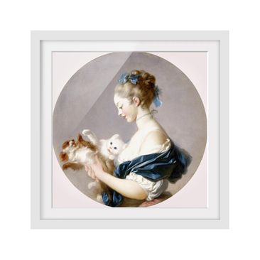 Product picture Framed print - Jean Honoré Fragonard -...