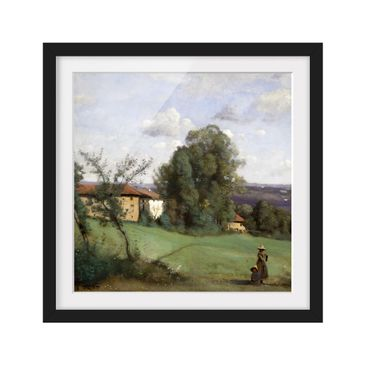 Product picture Framed print - Jean-Baptiste-Camille...