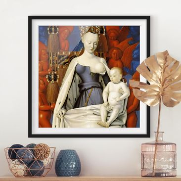 Product picture Framed print - Jean Fouquet - The...