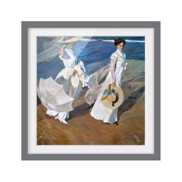 Product picture Framed print - Joaquin Sorolla - Walk...