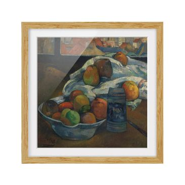 Product picture Framed print - Paul Gauguin - Fruit Bowl...