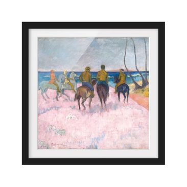 Product picture Framed print - Paul Gauguin - Rider At...
