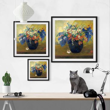 Product picture Framed print - Paul Gauguin - Vase With...