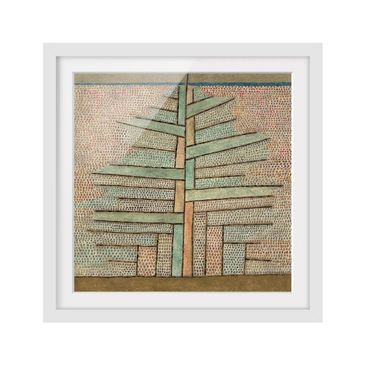 Product picture Framed print - Paul Klee - Pine Tree -...