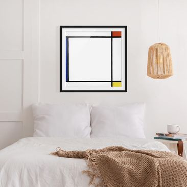 Product picture Framed print - Piet Mondrian -...