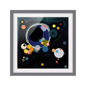 Product picture Framed print - Wassily Kandinsky -...