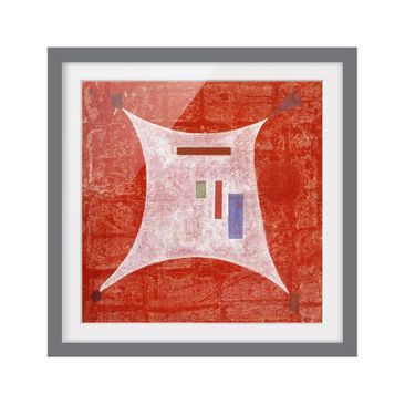 Product picture Framed print - Wassily Kandinsky - Four...