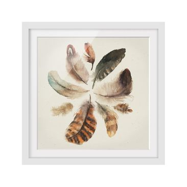 Product picture Framed print - Feather Collection -...
