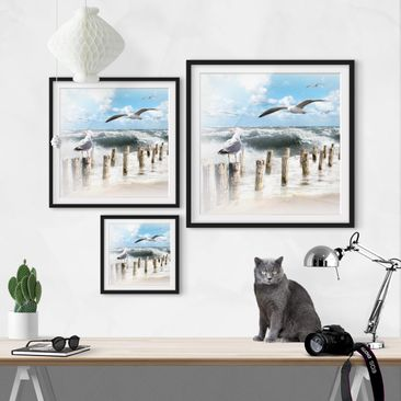 Product picture Framed print - No.Yk3 Absolute Sylt -...