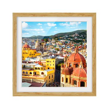 Product picture Framed print - Colorful Houses...