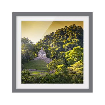 Product picture Framed print - Mayan Ruins - Square...