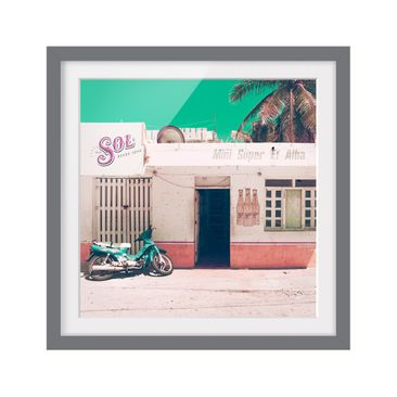 Product picture Framed print - Mini Supermarket Vintage...