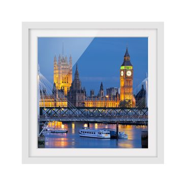 Product picture Framed print - Big Ben And Westminster...