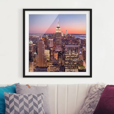 Product picture Framed print - View From The Top Of The...