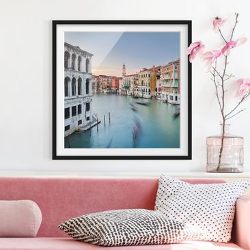 Product picture Framed print - Grand Canal View Of The...
