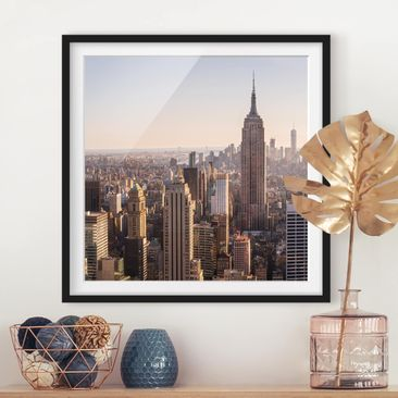 Product picture Framed print - Empire State Building -...