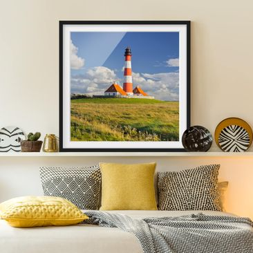 Product picture Framed print - Lighthouse In...