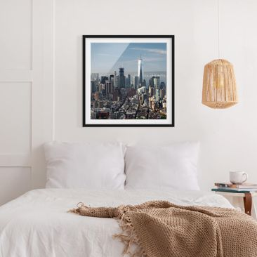 Product picture Framed print - View Of The Empire State...