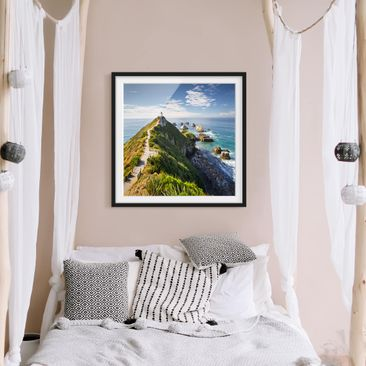 Product picture Framed print - Nugget Point Lighthouse...