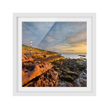 Product picture Framed print - Tarbat Ness Lighthouse...