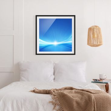 Product picture Framed print - Abstract Background -...