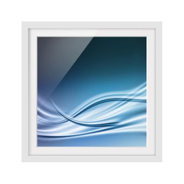 Product picture Framed print - Abstract Design - Square...