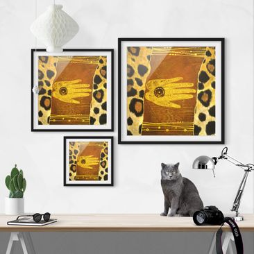 Product picture Framed print - African Feelings - Square...