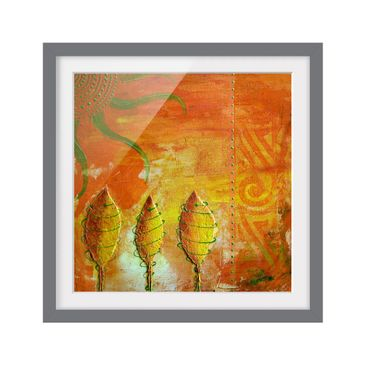 Product picture Framed print - African Happiness -...