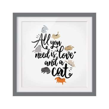 Product picture Framed print - All You Need Is Love And...