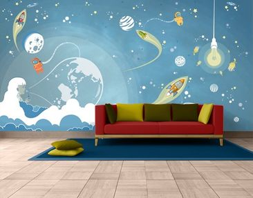 Produktfoto Photo Wall Mural No.MW16 Colorful Space...