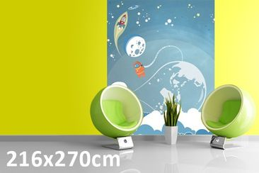 Product picture Photo Wall Mural No.MW16 Colorful Space...