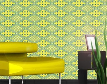 Product picture Photo Wall Mural No.TA94 Retro Pattern...