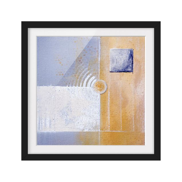 Produktfoto Bild mit Rahmen - Pastel for your room - Quadrat 1:1