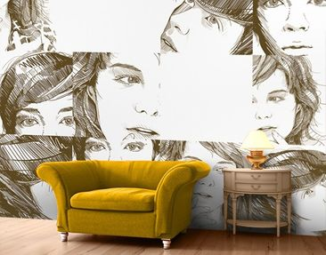Produktfoto Photo Wall Mural No.TA100 Female...