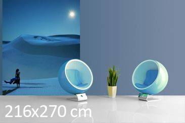 Product picture Photo Wall Mural Full Moon Over The...